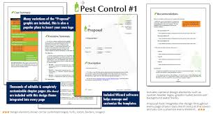 Proposal Pack Pest Control 1 Software Templates Samples Astonishing ...