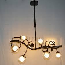glass ball modern creative contemporary unique wrought iron branch chandelier modern branch chandelier r96