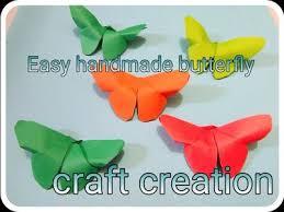 diy crafts paper erflies very easy craft creation