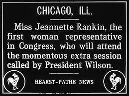 「Representative Jeannette Rankin of Montana.」の画像検索結果