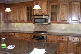 medium oak kitchen cabinets. Kitchen Backsplash Medium Oak Cabinets B