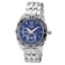 armitron mens multi function dial silver tone bracelet watch shopko