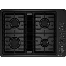 Gas Kitchen Appliances Jenn Airr 30 Gas Downdraft Cooktop Black Jgd3430bb Home