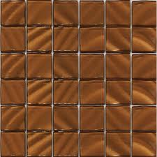 valverde 2 x 2 3d copper 12 in x 12 in x 6mm glass
