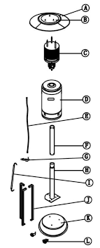 assembly instructions for fire sense patio heater