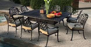 unique catchy aluminum outdoor dining set best images about cast comfy tubular patio furniture with regard to 16