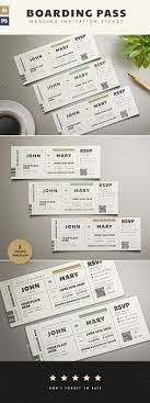 Boarding Pass Wedding Invitation Wedding Invitation Card