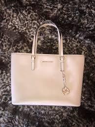 michael kors blush leather purse 278 value
