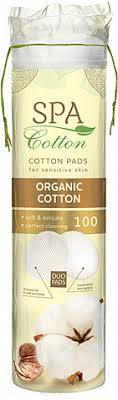 <b>Ватные диски SPA COTTON</b> Organic, 100 шт — купить в интернет ...
