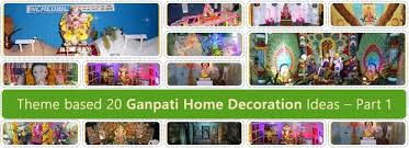 ganpati pictures ganpati decoration ideas 2017 gallery