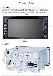 2005-2011 Toyota Vitz Echo Camry Terios OEM DVD Player GPS ...