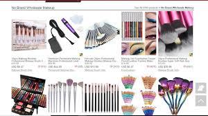 whole high end makeup distributors