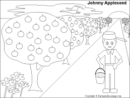 Small Picture Johnny Appleseed Read and Answer Quiz EnchantedLearningcom
