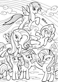Small Picture My Little Pony Coloring Book Deviantart Coloring Pages