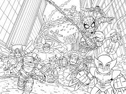 Christmas Coloring Pages For Kids Printable Avengers Printable