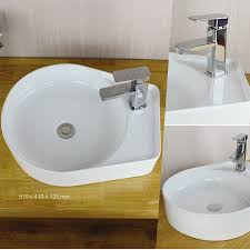 bathroom hand washing basin with faucet hole 3072