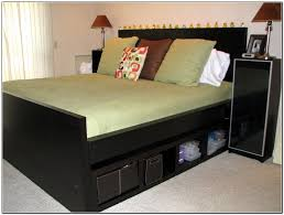 ikea storage bed hack. Terrific Ikea Bedroom Hacks 23 Hack Ideas X In Malm Storage Bed