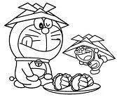 Cat robot doraemon posed with their friends for the artist, but the artist did not finish the portrait, he has new orders. Doraemon Coloring Pages Coloringpagesonly Com