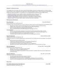 Resume Summary Examples For Administrative Assistants Executive Assistant Resume Examples The Benefits Of Executive 18