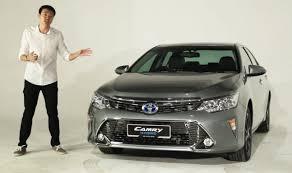 2015 Toyota Camry Hybrid Walk-Around Tour - paultan.org - YouTube