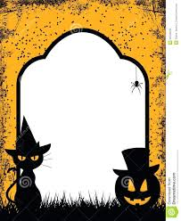 free halloween stationery templates template halloween word template free borders five great designs to