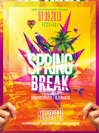 Template For Event Flyer Blank Party Flyer Templates Blank Event Flyer Templates Spring Break