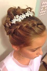 Pretty Girls Hairstyle the 25 best flower girl hairstyles ideas munion 5362 by stevesalt.us