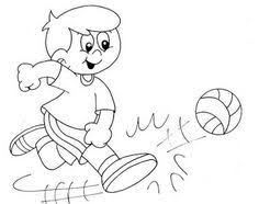 Small Picture Physical Activity Printable Coloring Pages Coloring page Pinterest