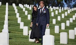 Prince Harry and Meghan hired star photographer for war graves visit    Royal   News   Express.co.uk