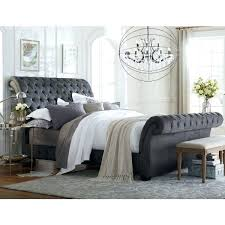 tufted upholstered sleigh bed. Simple Sleigh Tufted Sleigh Bed Alluring Upholstered King With Impressive On  Queen  With Tufted Upholstered Sleigh Bed N