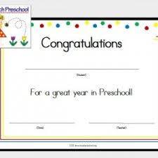free preschool certificates 8 best certificates images in 2018 preschool certificates