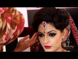 indian stani asian bridal makeup videos full hd tutorial step by step