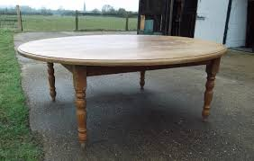 large antique oak round table huge 7ft diameter solid oak round dining table to seat