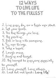 Live Life To The Fullest Quotes Delectable Live Life To The Fullest Quotes Tumblr Google Search Quotes