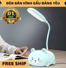 ĐÈN BÀN HÌNH GẤU,Mua đèn bàn học cho bé ngay,Sử dụng bền bỉ phù hợp cho  người làm văn phòng , học sinh , công việc,tầm sáng tốt, Bảo hành uy tín