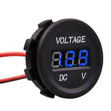 digital voltmeter car motorcycle boat dc 12v to 24v led display panel digital voltmeter meter volt