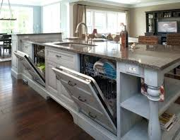 small kitchen island with sink. Kitchen Island With Sink And Dishwasher Small In It