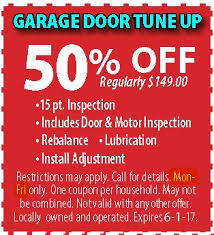 garage door tune upGarage Door Repair Coupons  All American Door Co