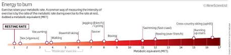 Met Equivalent Chart What Counts As Exercise New Scientist