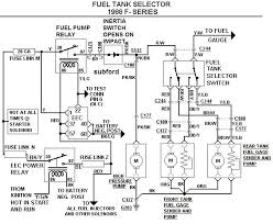 fuel sel1988FSeries49A 2003 e350 wiring diagram,wiring wiring diagrams image database on 2003 ford f250 radio wiring diagram