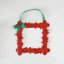 DIY Craft Projects Christmas  Trash To TreasureChristmas Picture Frame Craft Ideas
