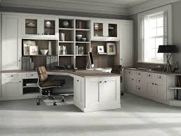 home office white. Fitted Home Office In Pure White E