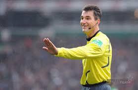 Anzahl der platzverweise in der 1. Knut Kircher Schiedsrichter Fussball Bundesliga 5 Sterne Redner