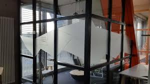 Glasdekor Folie Interior Design Sichtschutz Informations