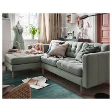 Sofa With Couch Designs Landskrona Sofa With Chaise Gunnared Dark Gray Wood In