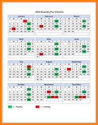 Payroll Calendar Template Gorgeous Biweekly Pay Schedule Template Biweekly Payroll Calendar Happywinner