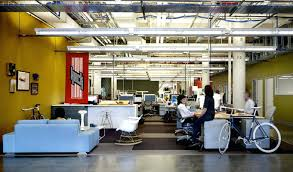 cool office interiors. Charming Office Workspace Cool Space Ideas With White Sofa Featuring Modern Table And Furniture Industrial Style Interiors