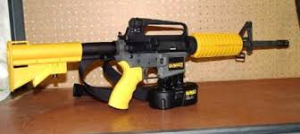 nail gun injuries. just like a firearm, nailer is very similar; do not put your finger on the trigger until you are ready to shoot. make sure of what behind target. nail gun injuries