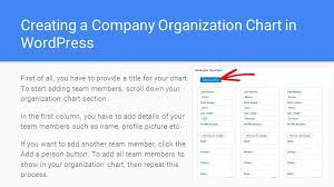 Easy Way To Create Your Company Organization Chart In