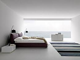Interesting Beautiful Modern Master Bedrooms Allwhite Bedroom With Poster Window On Design